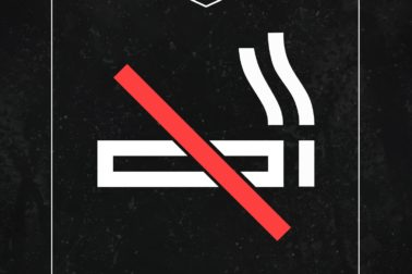 ministry no smoking
