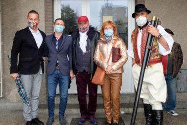 zľava Radoslav Ocharovich, Martin Majling, Vladimír Bahýl, Katerána Čižmárová a Vladimír Homola