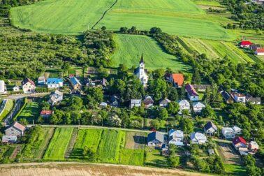 dedina na vychode