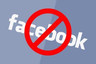 facebook stop