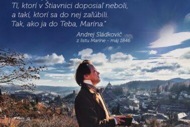 Zaľúbená Štiavnica_citát Sládkoviča