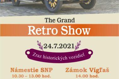 PLAGÁT Grand retro show 2021