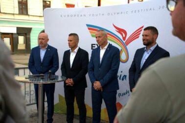 Zľava Anton Sieel, Marian Majer, Ján Nosko a Peter Hamaj