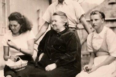 Izabela-Textorisová-s-Dr.-Futákom-v-roku-1942-Blatnica