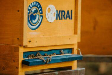 KRAJ si adoptované úle označuje ich logom.