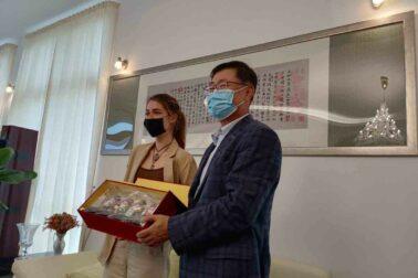 Kozová a Sun Lijie