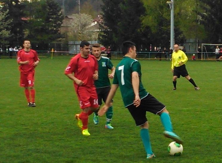22fcc90cbcb66 Regionálny futbal: Víťazne iba Šalková, Podlavice a Jakub