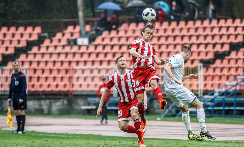 b2cdae496 Dukla zdolala za dažďa Nové Mesto nad Váhom gólom z penalty + HLASY