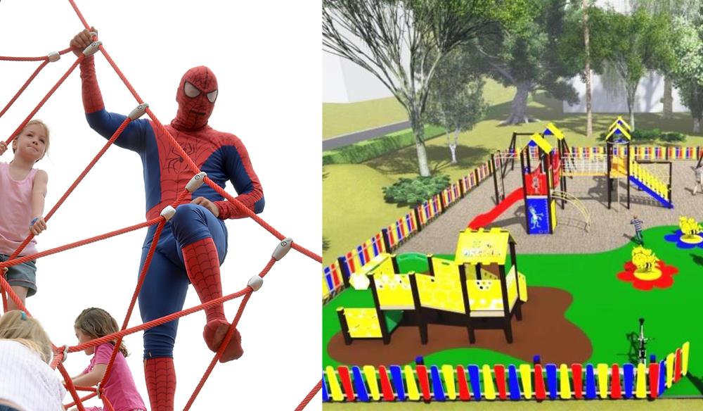 Detské ihrisko Žihadielko na Fončorde a Spiderman v Sásovej ... 7020ec48e9d