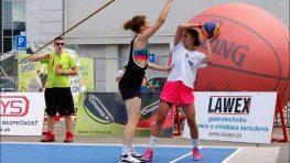 Streetbalový turnaj SBA 3 x3 v sobotu na Rudohorskej