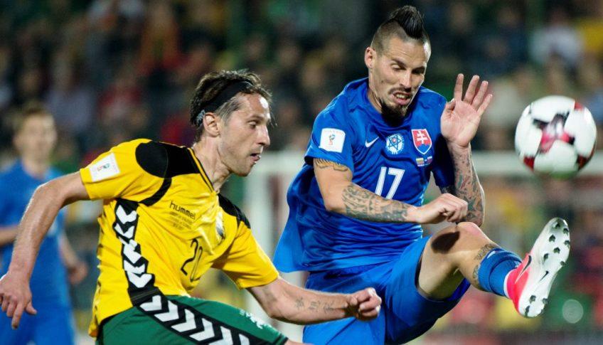 Litva SR Futbal MS kval F 6.kolo