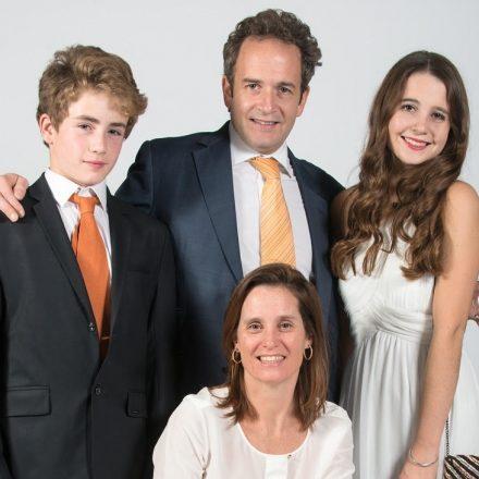 Anton Radvansky s rodinou