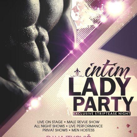 Intim Lady Party plagát