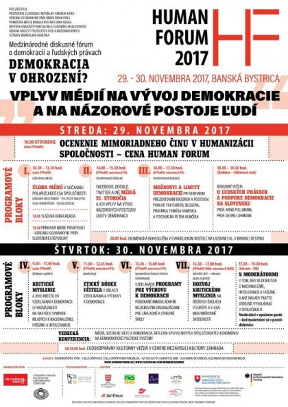 plagat human forum 2017