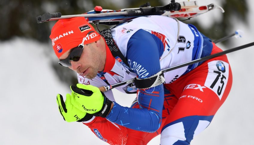 Rakúsko SR Biatlon SP 2.kolo šprint muži Kazár
