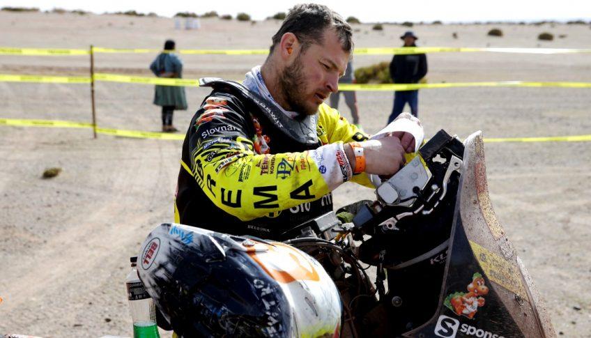 Bolívia Motorizmus Rely Dakar 8.etapa