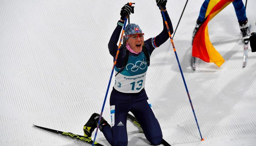 Kórea Pjongčang ZOH2018 SR biatlon 10 km stíhacie ženy