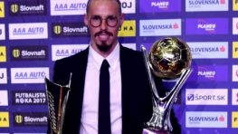 Banskobystričan Marek Hamšík sa stal futbalistom roka i štvrťstoročia