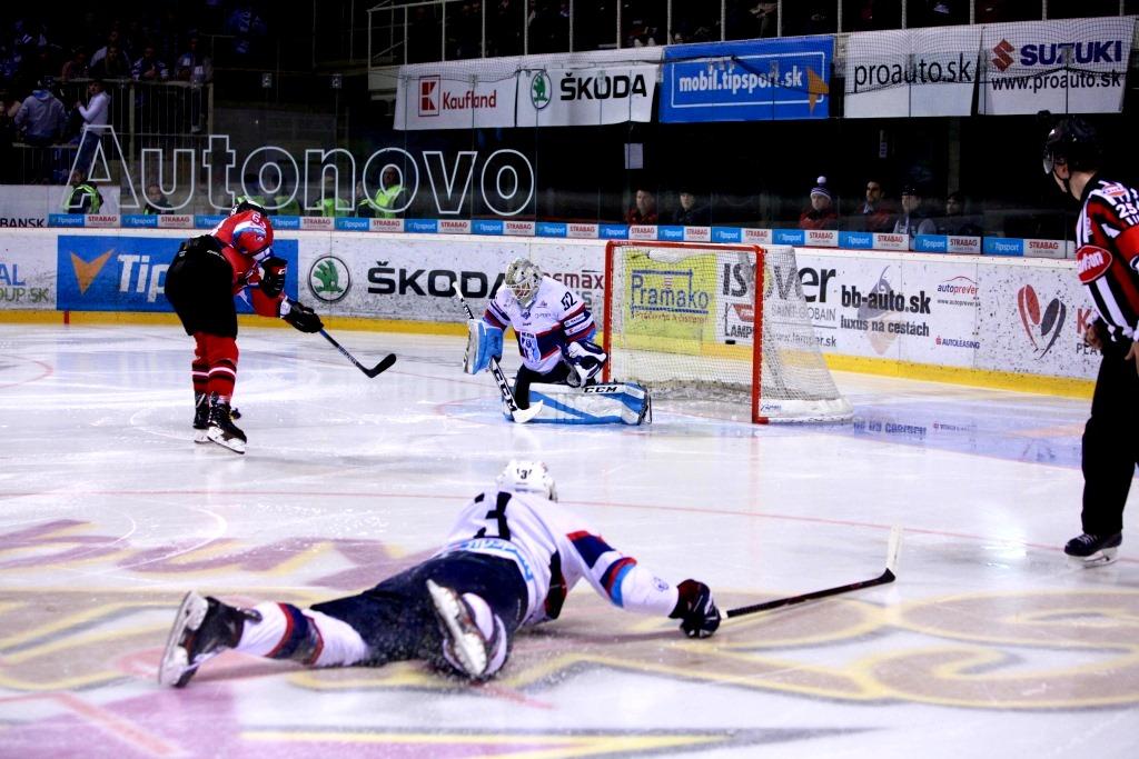 f8172409e64a5 Banskobystrickí hokejisti aj v treťom semifinálovom zápase Kaufland  play-off Tipsport ligy vyhrali s Nitrou, tentoraz na domácom ľade 6:3, a v  sérii hranej ...