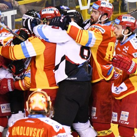 SR Hokej TL play off finále 5. Trenčín B.Bystrica TNX