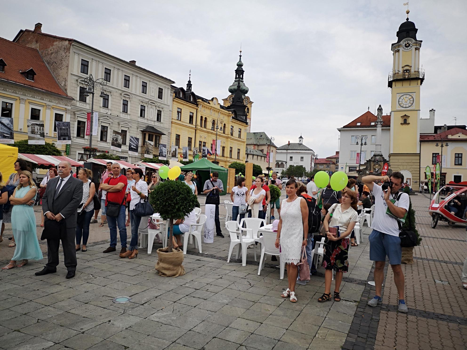 9ce814af4118 Slovenská agentúra životného prostredia si na banskobystrickom Námestí SNP  podujatím Svetový deň životného prostredia pripomenula štvrťstoročie svojej  ...