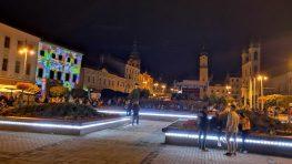 FOTO: Dvojdňový bystrický Festival svetla a tieňa 2018