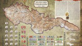 Najstarší výrobca máp pri Banskej Bystrici prispieva k 100. výročiu ČSR historickou mapou