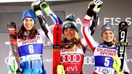 Petra Vlhová v prvom slalome sezóny druhá hneď za suverénnou Shiffrinovou