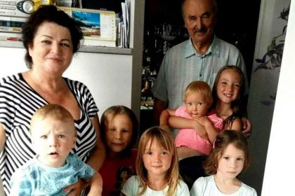 manzelia chorvatovci s vnucatami