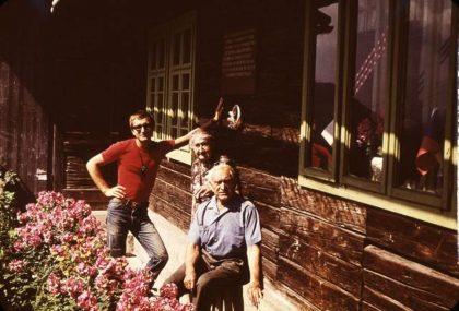 13 S manželkou Elenou a vnukom Lučom Donovaly 1974