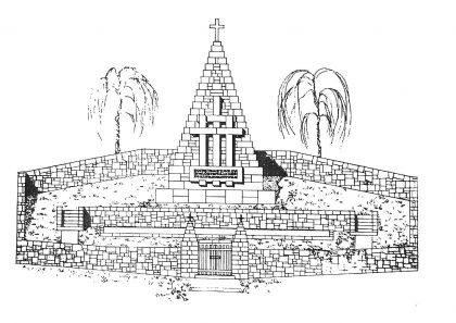 Návrh architekta D. Jurkoviča,r. 1947