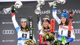 Po triumfe v obráku Duklistka Petra Vlhová na bronzovom pódiu v slalome