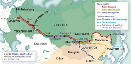 trasa transsibirskej magistraly