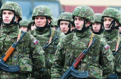 vojenska prehliadka