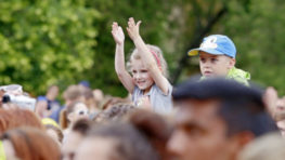 FOTO: Medzinárodný deň detí v bystrickom Parku pod Pamätníkom SNP