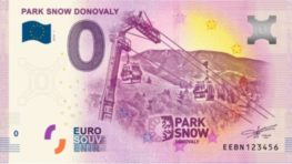 Svoju suvenírovú eurobankovku budú mať aj Donovaly