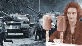 FOTO: August 1968 v Banskej Bystrici a statoční rozhlasáci