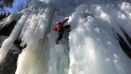 V sobotu budú v Kremnici prvé preteky v ľadolezení na ľadopáde