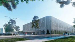 K začiatku výstavby Multifunkčnej  športovej haly je Banská Bystrica bližšie + vizuál