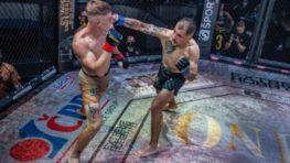 FOTO: Thaiboxer Nikolas Krivák s víťazným debutom v Oktagone