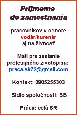 banner zamestnanie