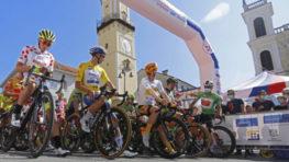 FOTO: Víťazom 3. etapy Okolo Slovenska so štartom v Banskej Bystrici sa stal Martin Laas