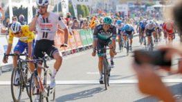 FOTO: Prvý do cieľa 2. etapy Okolo Slovenska na bystrickom Námestí SNP prišiel Nico Denz