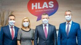 Januárový prieskum Polis Slovakia: HLAS jasne vedie, SaS predbehla OĽaNO