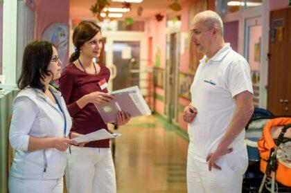 Odborný tím v Detskej fakultnej nemocnici