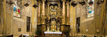 Oltár Baziliky sv. Mikuláša