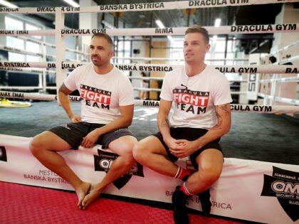 zľava Vladimír Piperek a Vladimír Moravčík