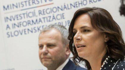 Veronika Remišová a Vladimír Ledecký