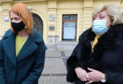 Zľava Denisa Nincová a Božena Kováčová