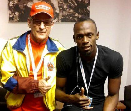 Vladimír Výbošťok a Usain Bolt